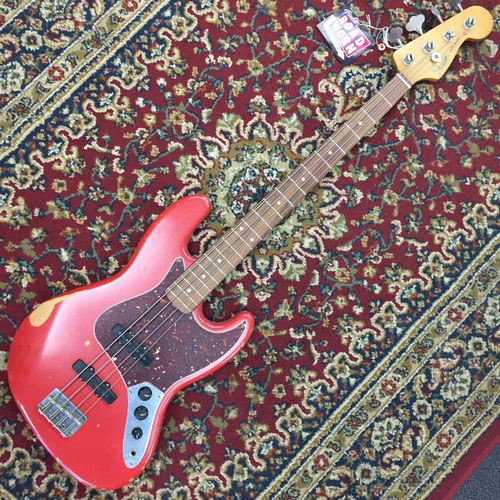 Fender Road Worn 60's Jazz Bass Fiesta Red